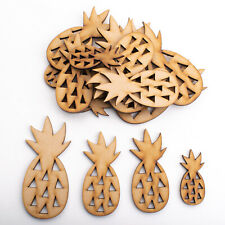 Wooden MDF Shapes Crafts Pineapple Scrapbook Embellishments Card Decoration