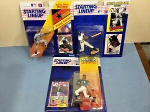 Three (92, 93, 94) Starting Lineup Chicago White Sox HOF 1B Frank Thomas NIP