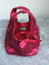 CHILDS BAG BY MONSOON PINK SEQUINNED 💕 H1313