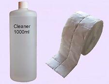 1000ml Cleaner klar 99,9% Entfetter + 500 Zelletten Nagelcleaner