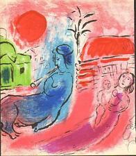 Marc Chagall-Original-Lithographie-Maternité UD kentauer wv.: Mourlot 195