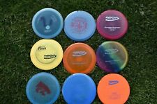 USED 9 disc golf lot Innova Star Champion Metal Flake Luster Roc3 Destroyer