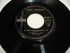 "EP JULIE LONDON "" MY HEART BELONGS TO DADDY """
