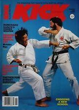RARE 11/82 KICK MAGAZINE FUMIO DEMURA MOTOBY-RYU KARATE KUNG FU MARTIAL ARTS