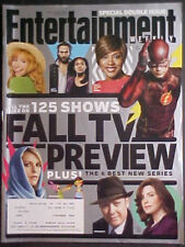 SEPTEMBER 19/26, 2014 ENTERTAINMENT WEEKLY #1329/30! FALL TV PREVIEW! THE FLASH