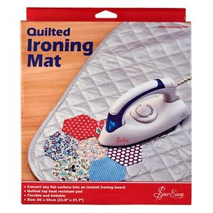 """SEW EASY QUILTED IRONING MAT 60cm x 55cm / 23.6"""" x21.7"""" TRAVEL & CRAFTS – ER4123"""