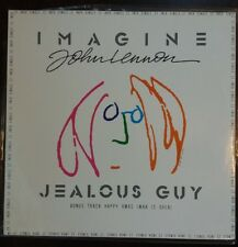 "John Lennon ""Imagine"" & ""Jealous Guy"" MINT 12"" Parlophone w/ Bonus Track 1988"