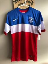 Nike Authentic 2014 US Soccer Football World Cup Jersey USA Size Large L