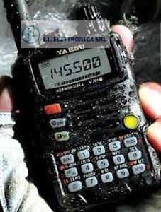 Yaesu VX-6 RTX Dual-Band Vhf - Uhf Rx 0,5/998,90 Tauchpumpe Ref 100048