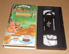 The Teddy Bears' Picnic (VHS, 1993) animated Kid Cartoons