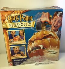 *Vintage* Harry Potter Iced Pumpkin Halloween Party Drink Maker - Mattel 2002