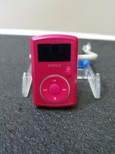 SanDisk Sansa Clip2 Pink Portable MP3 Player 2GB No Clip Used Tested Working
