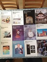 Horological Times Magazine 2002 Year Set 12
