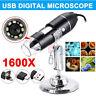 1000/1600X USB Zoom 8LED 2MP Microscope Digital Magnifier Endoscope Camera1080P
