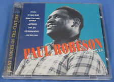 Deep River by Paul Robeson CD Great Voices of the Century 2 Discs, GVC UK Import