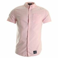 Superdry Men's Slim Cotton Casual Shirts & Tops