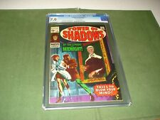 1969 TOWER OF SHADOWS #1 CGC 7.0, GRADED BACK IN 2006.   NICE COPY