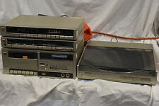 Technics Hi-Fi Stereo System - Amplifier SV-5/Turntable SL-5/Tuner/Cassette