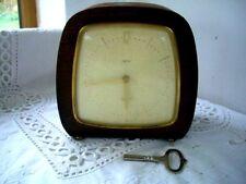 Art Deco Vintage 8 días de trabajo flotante saldo Mantel Clock - - mantiene buen momento