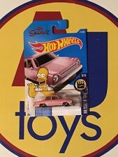 HOT WHEELS 1:64 THE SIMPSONS HOMER PINK CAR HW SCREEN TIME #112