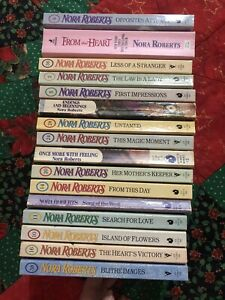 Lot16 PB NORA ROBERTS Romance Vintage Language of Love