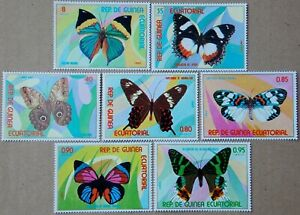 1976 Butterflies MNH Stamps from Equatorial Guinea