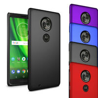 "For Motorola Moto G6 Play 5.7"" - Slim Hard Case Thin Hybrid Back Cover & Screen"