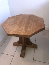 More details for robert ''mouseman'' thompson octagonal honey oak coffee table