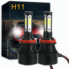 2x LED Headlight Bulb Kit H11 6000K 1900W Low Beam for Nissan Altima 2007-2017