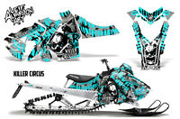 Snowmobile Graphics Kit Decal Sticker Wrap For Polaris Axys SKS 15-16 CIRCUS MNT