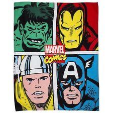 Marvel Comics Strike Childrens Fleece Blanket - 100 Official
