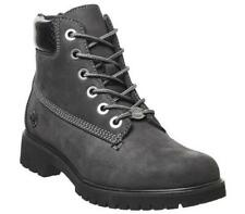 Womens Timberland Grey Leather Lace Up Ankle Boots Size UK 6 *Ex-Display