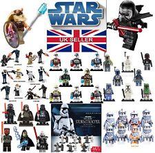 GENUINE LEGO STAR WARS MINI-FIGS AND CUSTOM MINI FIGURES UK SELLER CLONE WARS