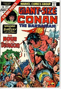 Giant-Size Conan the Barbarian Sept 1974 #1 Hour of the Dragon!