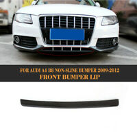 Carbon Frontspoiler Spoilerlippe Front Schwert für Audi A4 B8 2009-12 Non-Sline