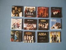 Dolls House miniatures - Music albums - ABBA x 12