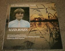 All Through The Night Aled Jones~1985 UK Import~BBC Records~FAST SHIPPING!!!