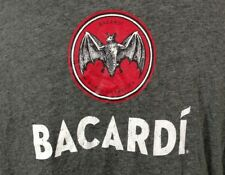 Bacardi Rum Shirt XL Bat Alcohol