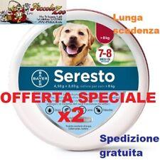 2 Seresto Bayer collare antiparassitario per cane oltre 8kg SCAD 2023 NEW