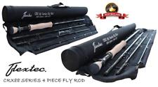 NEW Flextec CRX88 Graphite Carbon Fibre Fly Fishing Rod - 10 Ft - Line 5/6