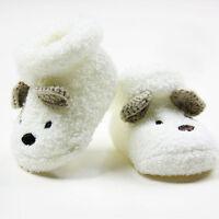 Cute Newborn Baby Boy Girls Socks Infant Cute Bear Crib Warm Shoes Socks RND