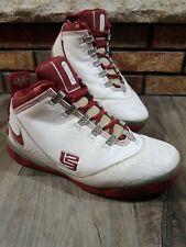 Nike Zoom LeBron Soldier 2 Elite TB 319407-162 Varsity Crimson Gray Mens Size 9
