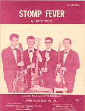 The Denvermen-Stomp Fever-1963 Sheet Music-Australian issue-Sample-Johnny Devlin