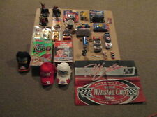 Nascar Lot of 29 Pieces Hats,Cards,Figures,Cereal Boxes