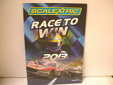 Scalextric 2013 Edition 54 Catalogue  77 Pages