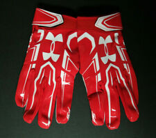 Under Armour UA F5 Adult Size XL Extra Large Football Gloves Style 1271183-600