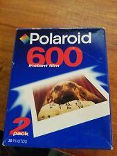 Polaroid 600 Instant Film 2 Pack / 20 Photos Fotos SEALED Expired 11/2006