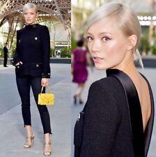 Chanel 2017 Runway Celebrities First Choice Black Dress Jacket Blazer 48-50 $6k