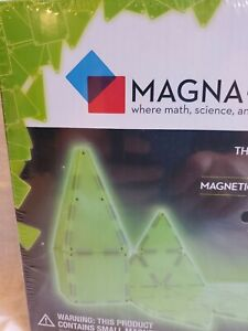 Magna-Tiles 24 PIECE GLOW in THE DARK Set!》– The Original》 Magnets Ages 3+