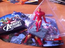 IRON MAN in volo AVENGERS ASSEMBLE 3D PVC MARVEL HEROES 2014 EDIBAS figure NUOVO